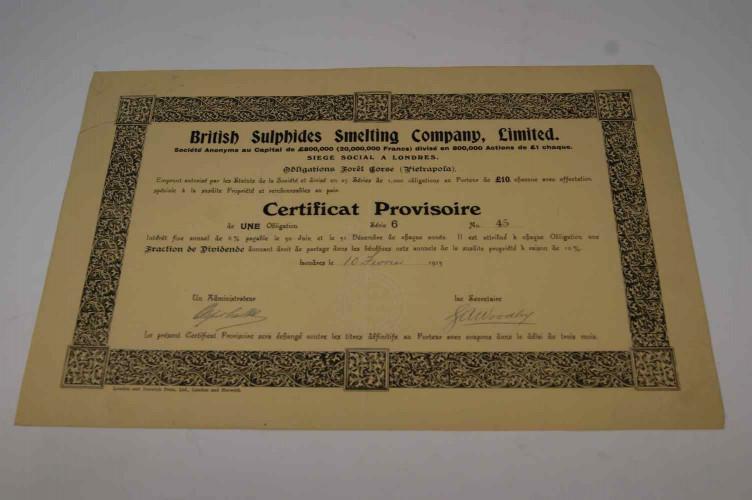 British Sulphides Smelting Company Limited